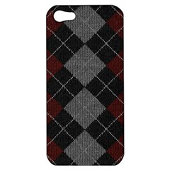 Wool Texture With Great Pattern Apple Iphone 5 Hardshell Case