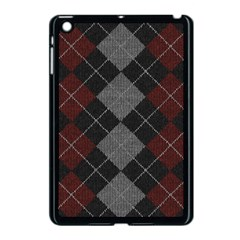 Wool Texture With Great Pattern Apple Ipad Mini Case (black)