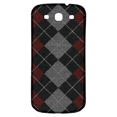 Wool Texture With Great Pattern Samsung Galaxy S3 S Iii Classic Hardshell Back Case