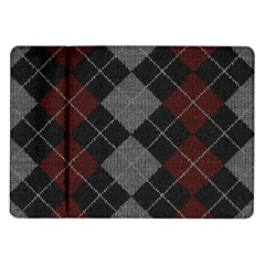 Wool Texture With Great Pattern Samsung Galaxy Tab 10 1  P7500 Flip Case