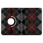 Wool Texture With Great Pattern Kindle Fire HDX Flip 360 Case Front