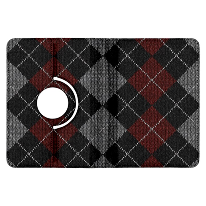 Wool Texture With Great Pattern Kindle Fire HDX Flip 360 Case