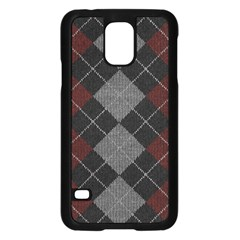 Wool Texture With Great Pattern Samsung Galaxy S5 Case (black)