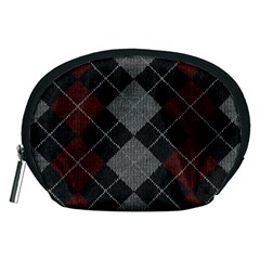 Wool Texture With Great Pattern Accessory Pouches (medium)