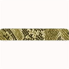 Yellow Snake Skin Pattern Small Bar Mats