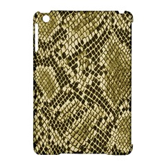 Yellow Snake Skin Pattern Apple Ipad Mini Hardshell Case (compatible With Smart Cover)