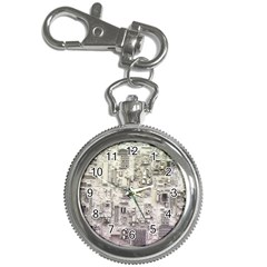 White Technology Circuit Board Electronic Computer Key Chain Watches