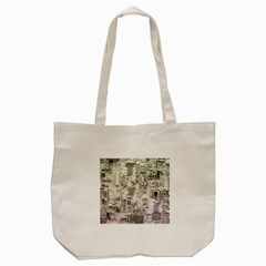 White Technology Circuit Board Electronic Computer Tote Bag (cream)