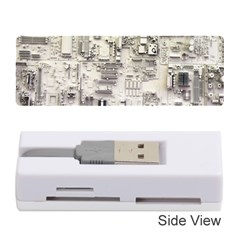 White Technology Circuit Board Electronic Computer Memory Card Reader (stick)