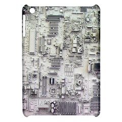 White Technology Circuit Board Electronic Computer Apple Ipad Mini Hardshell Case