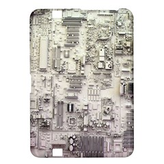 White Technology Circuit Board Electronic Computer Kindle Fire Hd 8 9