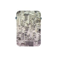 White Technology Circuit Board Electronic Computer Apple Ipad Mini Protective Soft Cases