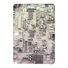 White Technology Circuit Board Electronic Computer Samsung Galaxy Tab Pro 12 2 Hardshell Case