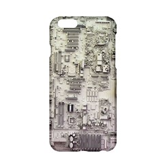 White Technology Circuit Board Electronic Computer Apple Iphone 6/6s Hardshell Case