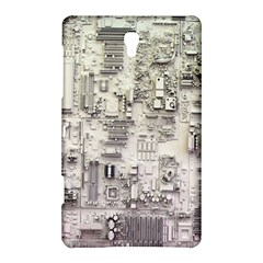 White Technology Circuit Board Electronic Computer Samsung Galaxy Tab S (8 4 ) Hardshell Case