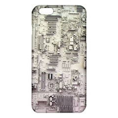 White Technology Circuit Board Electronic Computer Iphone 6 Plus/6s Plus Tpu Case