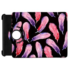 Watercolor Pattern With Feathers Kindle Fire Hd 7