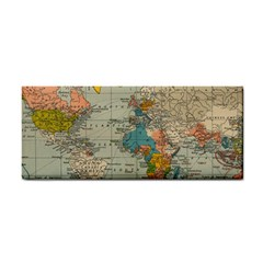 Vintage World Map Cosmetic Storage Cases
