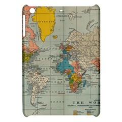 Vintage World Map Apple Ipad Mini Hardshell Case