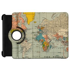 Vintage World Map Kindle Fire Hd 7