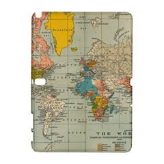 Vintage World Map Galaxy Note 1