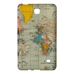 Vintage World Map Samsung Galaxy Tab 4 (8 ) Hardshell Case