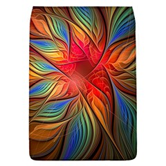 Vintage Colors Flower Petals Spiral Abstract Flap Covers (l)