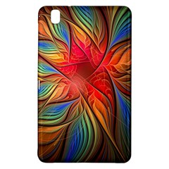 Vintage Colors Flower Petals Spiral Abstract Samsung Galaxy Tab Pro 8 4 Hardshell Case