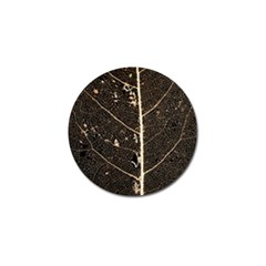 Vein Skeleton Of Leaf Golf Ball Marker (4 Pack)