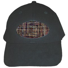 Unique Pattern Black Cap