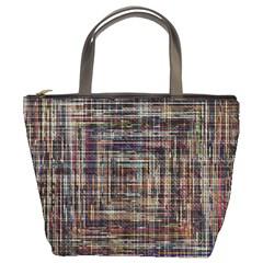 Unique Pattern Bucket Bags