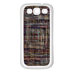 Unique Pattern Samsung Galaxy S3 Back Case (white)