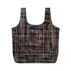 Unique Pattern Full Print Recycle Bags (m)
