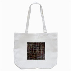 Unique Pattern Tote Bag (white)