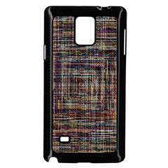Unique Pattern Samsung Galaxy Note 4 Case (black)