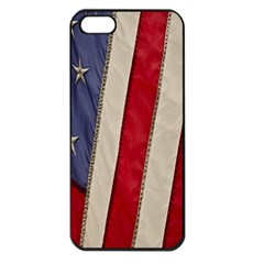 Usa Flag Apple Iphone 5 Seamless Case (black)