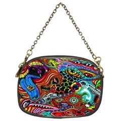 Vector Art Pattern Chain Purses (two Sides)