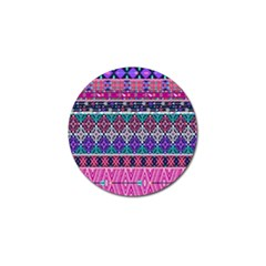 Tribal Seamless Aztec Pattern Golf Ball Marker (10 Pack)