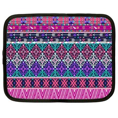 Tribal Seamless Aztec Pattern Netbook Case (xl)