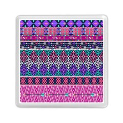 Tribal Seamless Aztec Pattern Memory Card Reader (square)