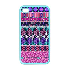 Tribal Seamless Aztec Pattern Apple Iphone 4 Case (color)