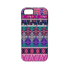 Tribal Seamless Aztec Pattern Apple Iphone 5 Classic Hardshell Case (pc+silicone)
