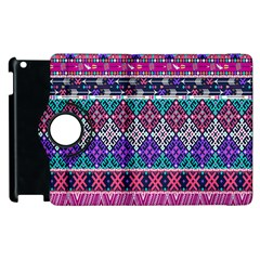 Tribal Seamless Aztec Pattern Apple Ipad 2 Flip 360 Case