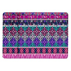 Tribal Seamless Aztec Pattern Samsung Galaxy Tab 10 1  P7500 Flip Case