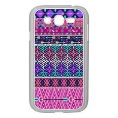 Tribal Seamless Aztec Pattern Samsung Galaxy Grand Duos I9082 Case (white)