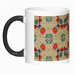 Traditional Scandinavian Pattern Morph Mugs
