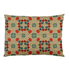 Traditional Scandinavian Pattern Pillow Case (two Sides)