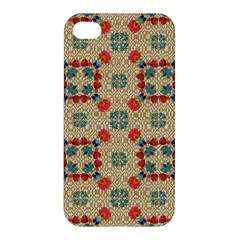 Traditional Scandinavian Pattern Apple Iphone 4/4s Hardshell Case