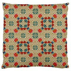 Traditional Scandinavian Pattern Large Cushion Case (two Sides)
