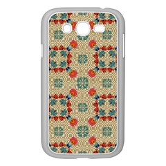 Traditional Scandinavian Pattern Samsung Galaxy Grand Duos I9082 Case (white)